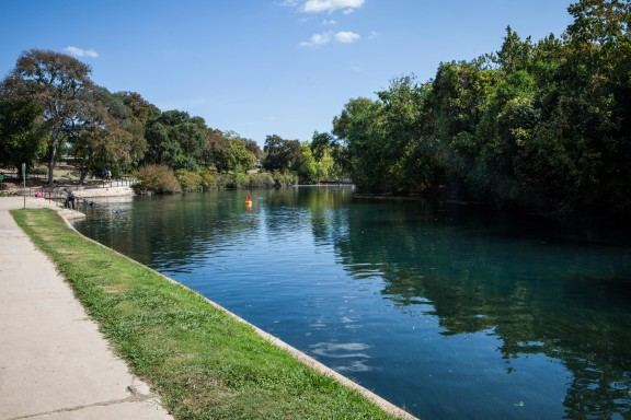 Lovely view during a Volkssport walk in New Braunfels