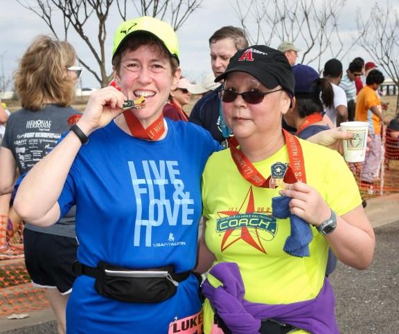 Finished my first half-marathon!