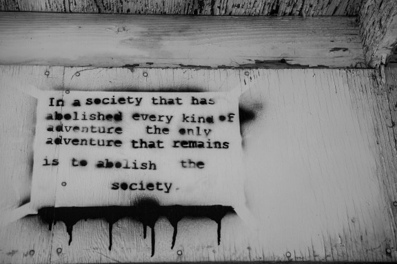 Abolish the society