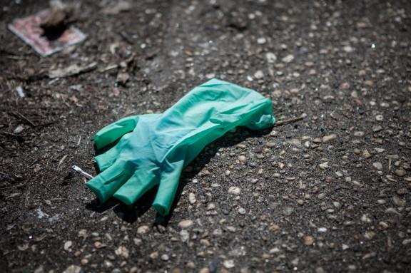 Not a rainblow glove