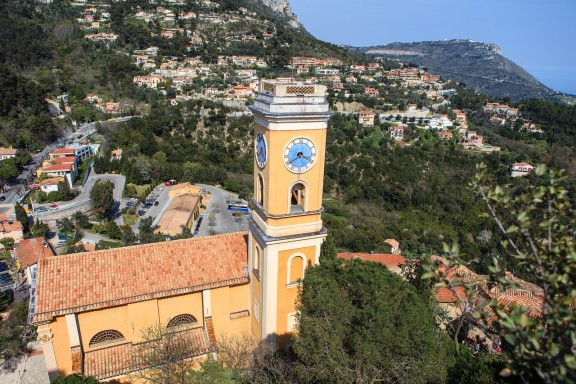 The view from the top of Eze-Ville