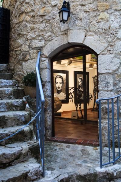 Gallery entrance