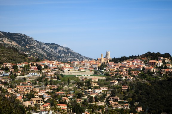 Walking from La Turbie to Eze-Ville