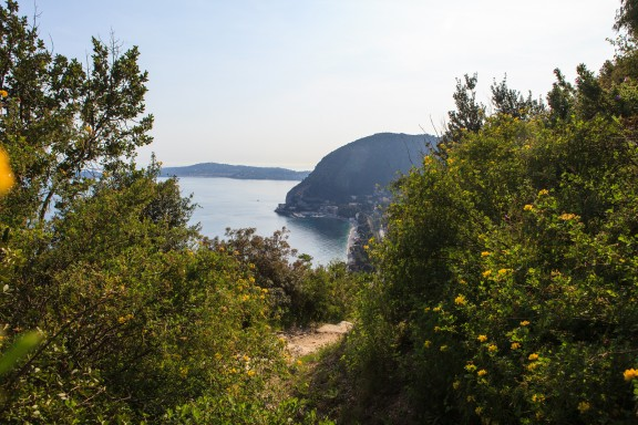 Walking from Eze-Ville to Eze-Sur-Mer