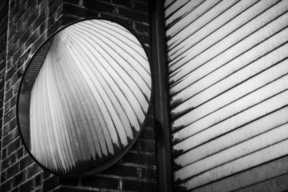 Garage reflected