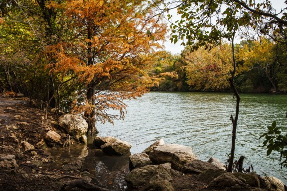 Fall on Lady Bird Lake