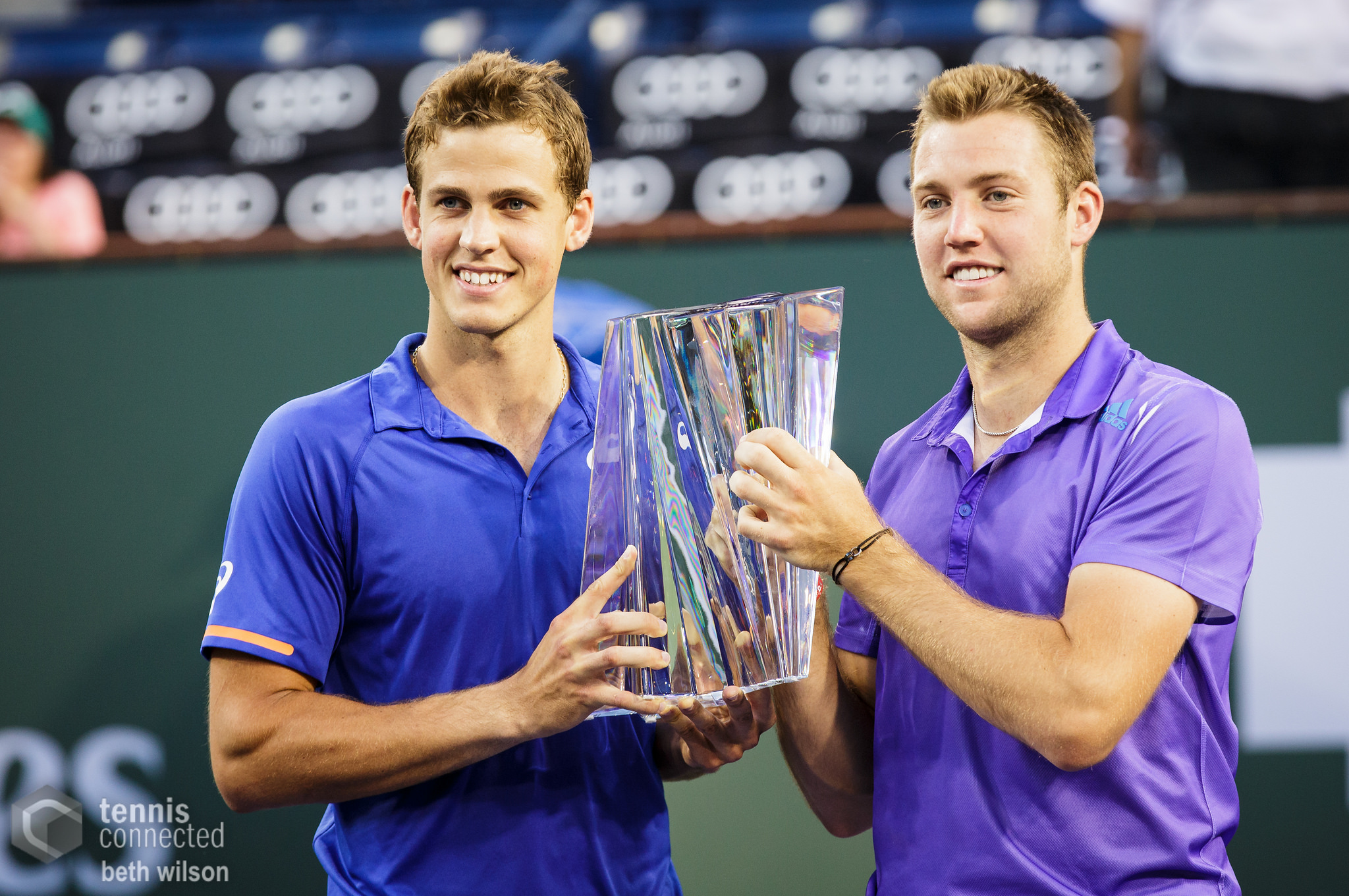Men's Doubles winners