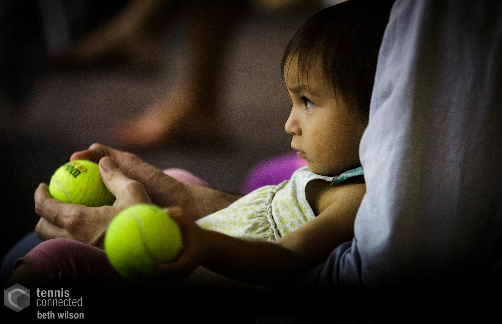 Future tennis fan