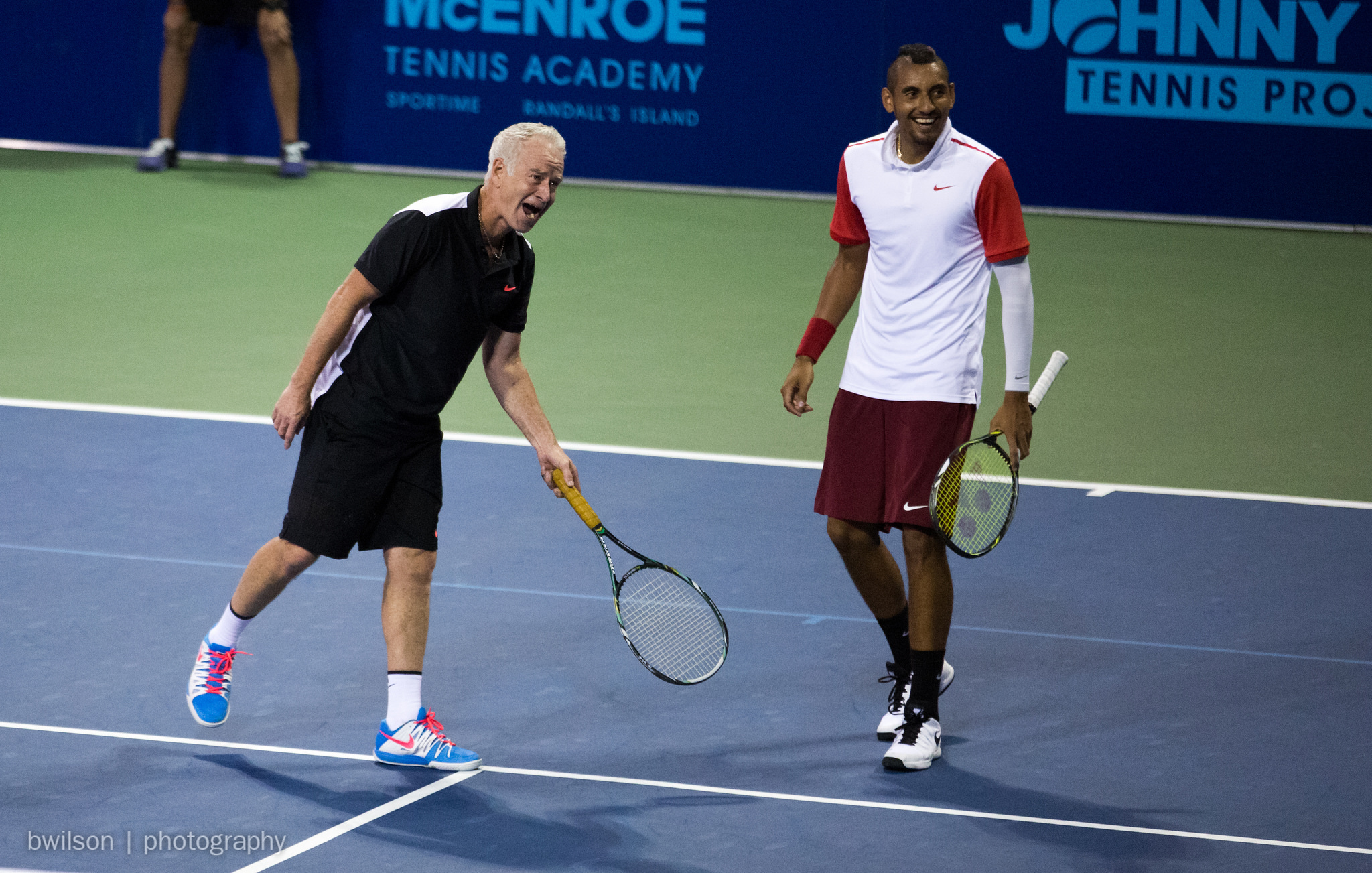 John McEnroe and Nick Kyrgios