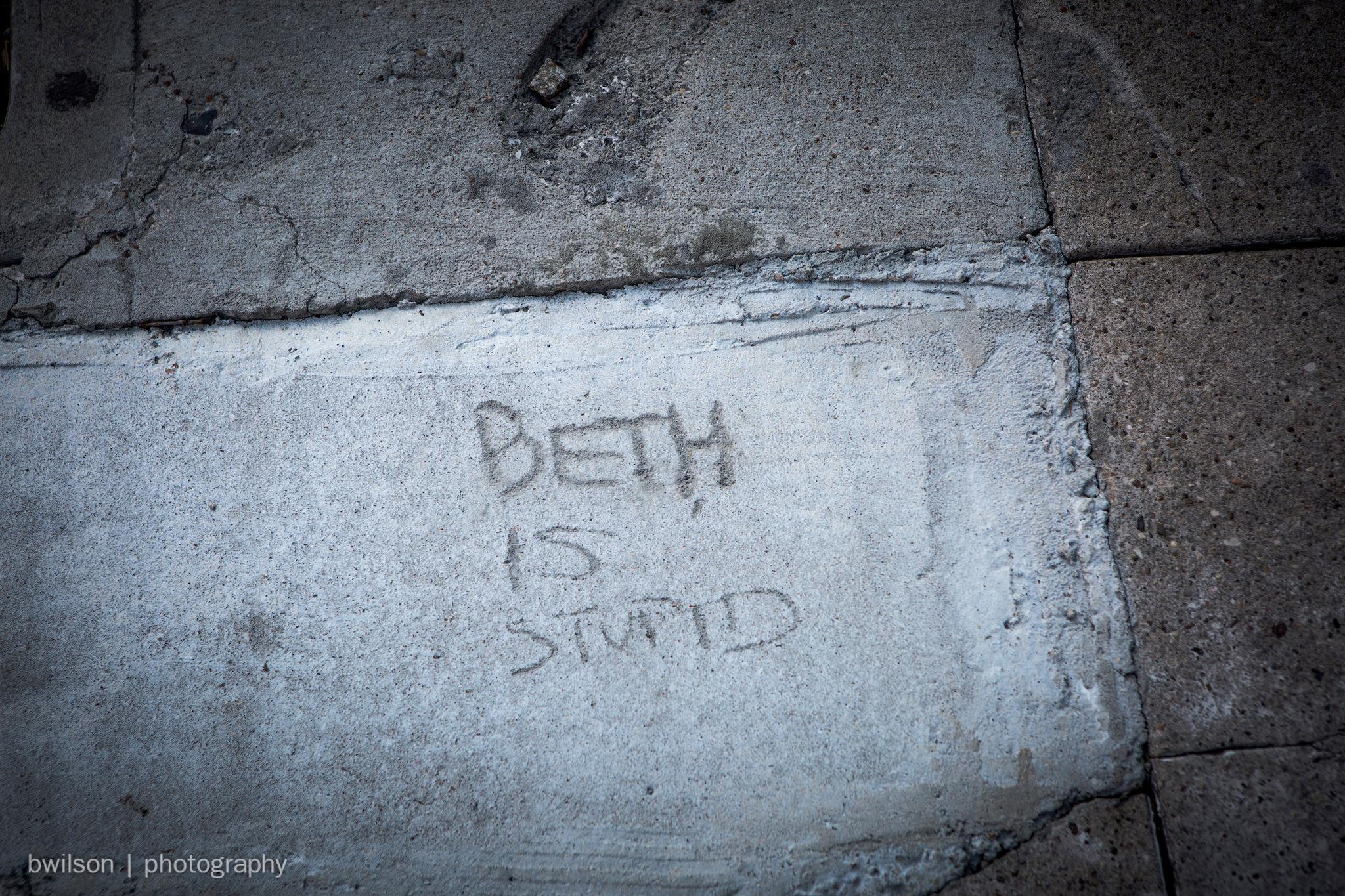 Beth is stupid