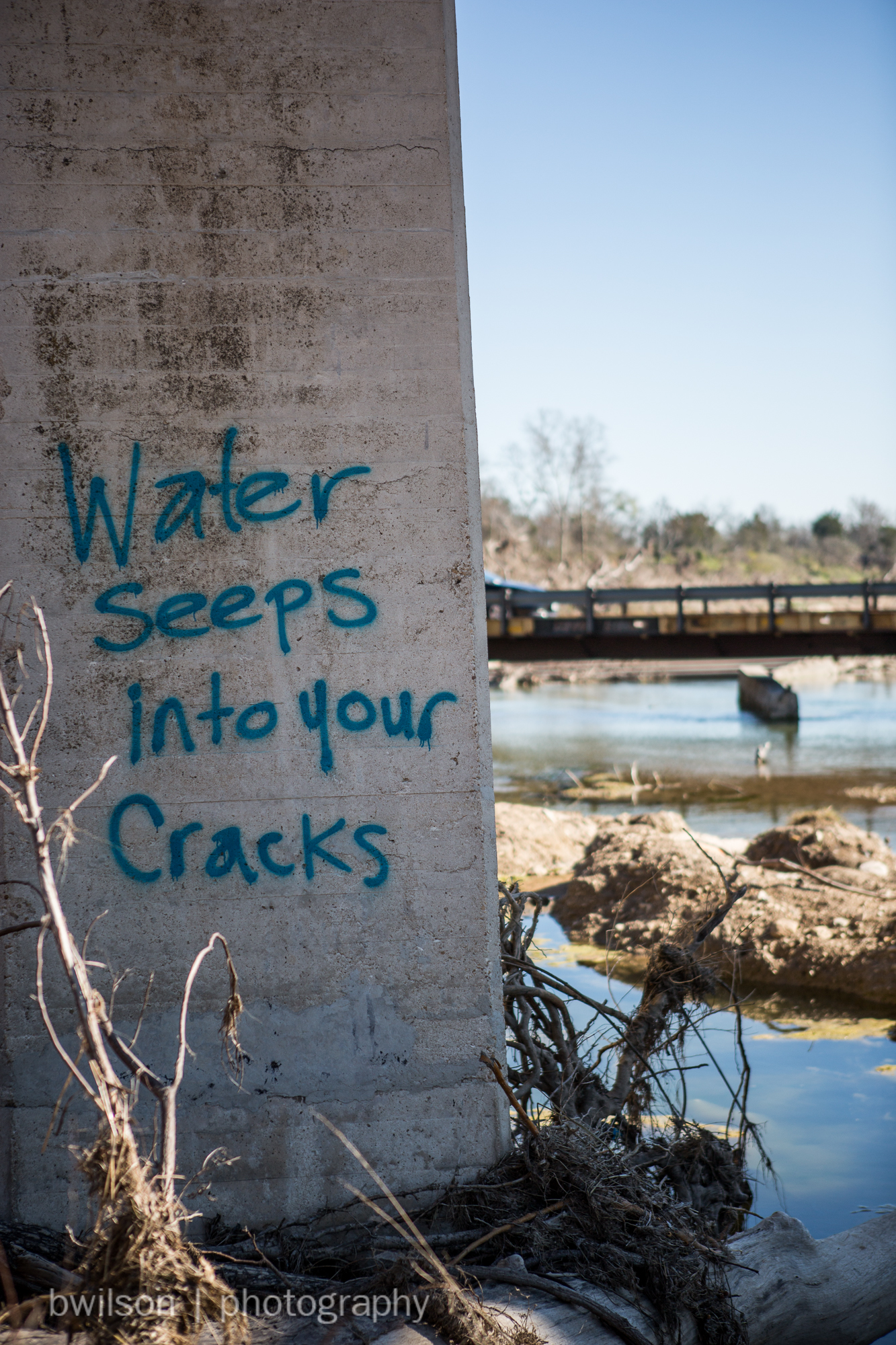 Into your cracks